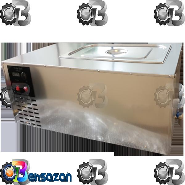 photo of water bath cooling/heating ،#حمام نفوذتصویرحمام بن ماری یخچال دار ثابل استفاده برای آزمایش نفوذ قیرو آزمایشهای اسلاری سیل